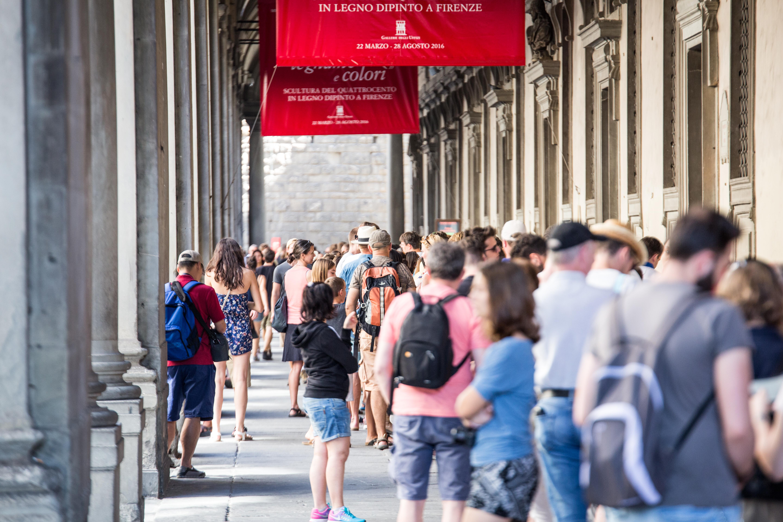 Le Gallerie degli Uffizi - Florenz