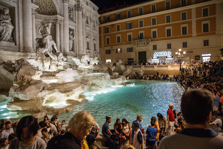 Trevi Brunnen - Rom